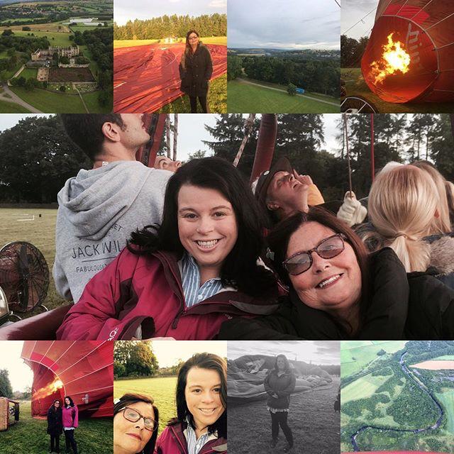 Such a busy weekend, enjoying some child free time with cocktails and fatbuddah :) catching up with my uni bestie and a hot air balloon ride for mummy's birthday. Such a fantastic experience, and strangely relaxing. I cannot recommend it highly enough. There is one ticked off the bucket list. #virginexperiencedays #hotairballoonride #scenicdurham #viewsfromthesky #specialdays #bucketlist #wittoncastle #mummydaughtertime #earlystarts #flyingoverdurham #specialmomentsinlife #landedinafield