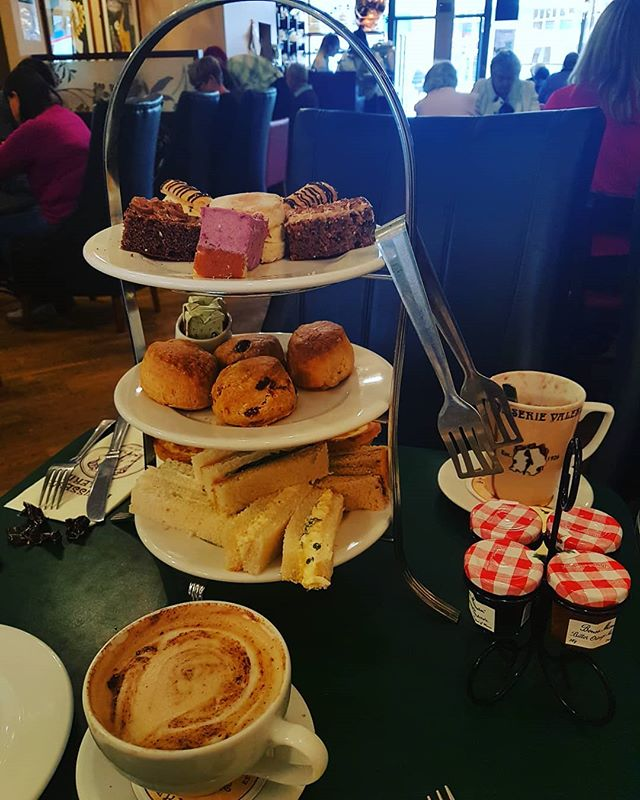 #virginexperiencedays  Patisserie Valerie Eastbourne afternoon tea for 2. Well 2 and a half as also had my 2 year old with us.