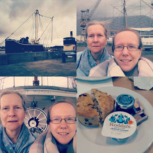 Wonderful day exploring the dockyard and sharing an afternoon tea with mum. #dockyardchatham #virginexperiencedays