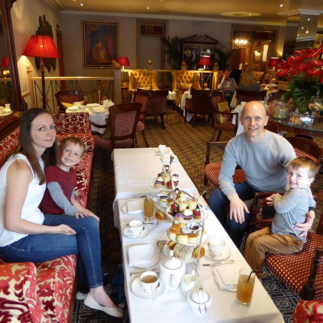 @virginexperiencedays #VirginExperienceDays our very first family afternoon tea!