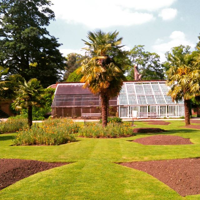 Beautiful walled gardens at Calke Abbey #virginexperiencedays