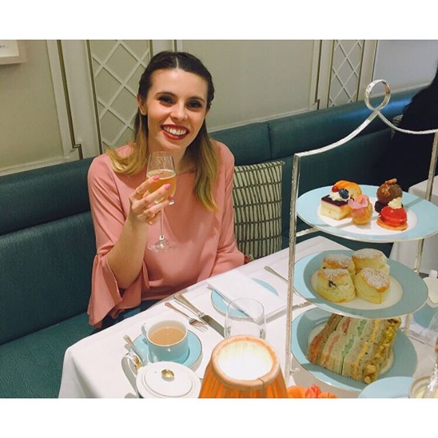 Monday blues being made worse by the thought of yesterday's afternoon tea ☕️🍰 #virginexperiencedays #fortnumandmason