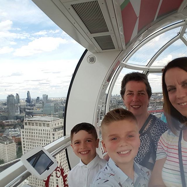 Our favourite was visiting the London eye  #VirginExperienceDays