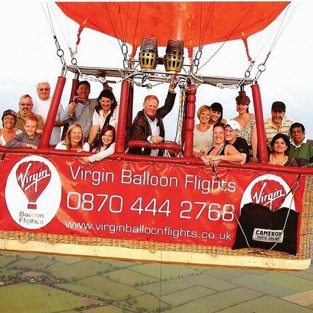 6yrs ago. Looking back on lovely memories. Ryan and me ballooning over Northants. #ballooning #experience #birthdaypresent #photographylovers #virginexperience #funtimes #memoriesinthemaking