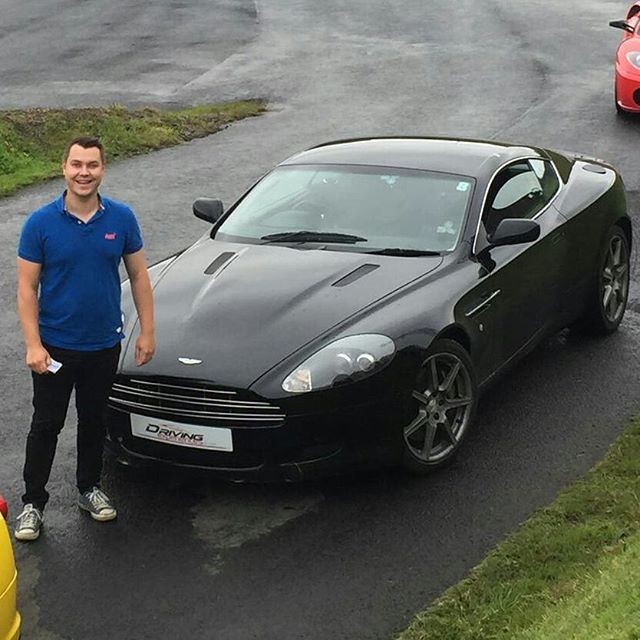Just back from Lochgelly Driftland. Possibly the best experience of my life! Loved every second. Thanks so much @mrs_leah_gowb .... same again next year please #virginexperiencedays #ferrari #lamborghini #astonmartin